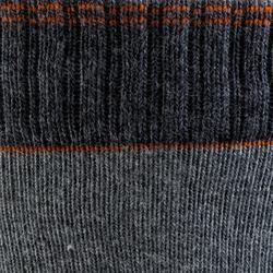 Skatersocken Fit Herren grau/orange