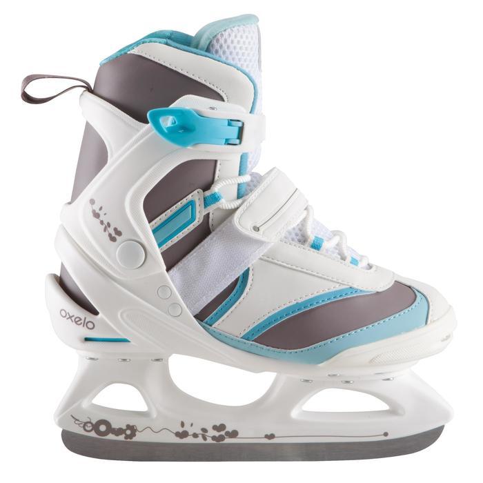 Patins à glace FIT 3 blanc bleu