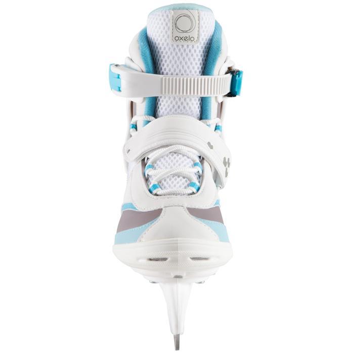 Schlittschuhe Fit 3 Damen weiß/blau