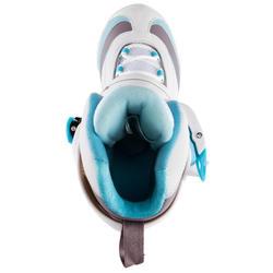 Damesschaatsen Fit 3 wit/lichtblauw - 143855