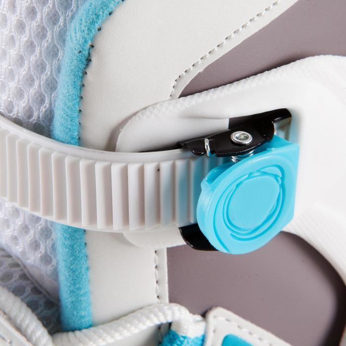 Damesschaatsen Fit 3 wit/lichtblauw