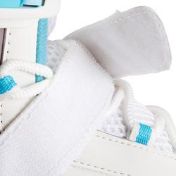 Damesschaatsen Fit 3 wit/lichtblauw - 143861
