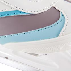 Damesschaatsen Fit 3 wit/lichtblauw - 143866