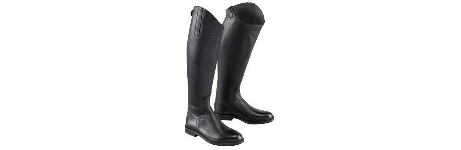 bottes équitation cuir