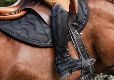 bottes equitation noir