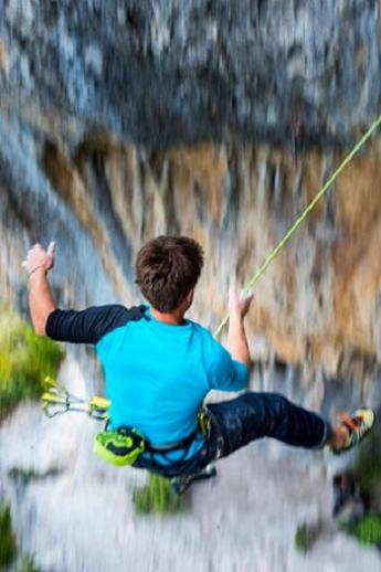 Abseilen-Klettersport