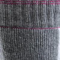 Носки для катания на роликах женские серые и цвета фуксии FIT
