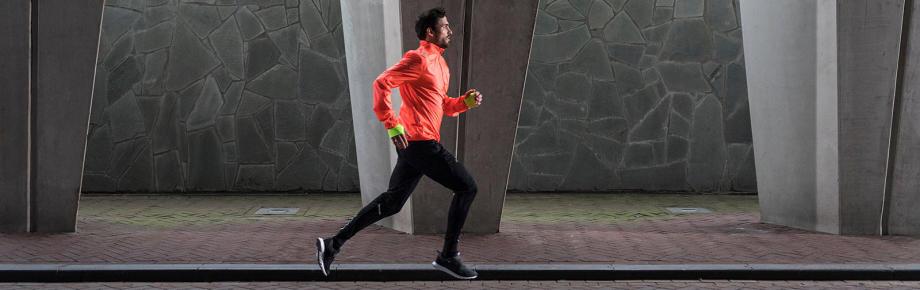 herbeginnen met hardlopen man