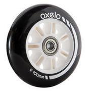 1 kotač za romobil 100mm s ležajevima crni