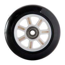 1 stepwiel 100 mm zwart met lagers - 143999