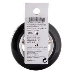 1 stepwiel 100 mm zwart met lagers - 144009