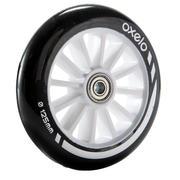 1 kotač za romobil 125mm s ležajevima crni