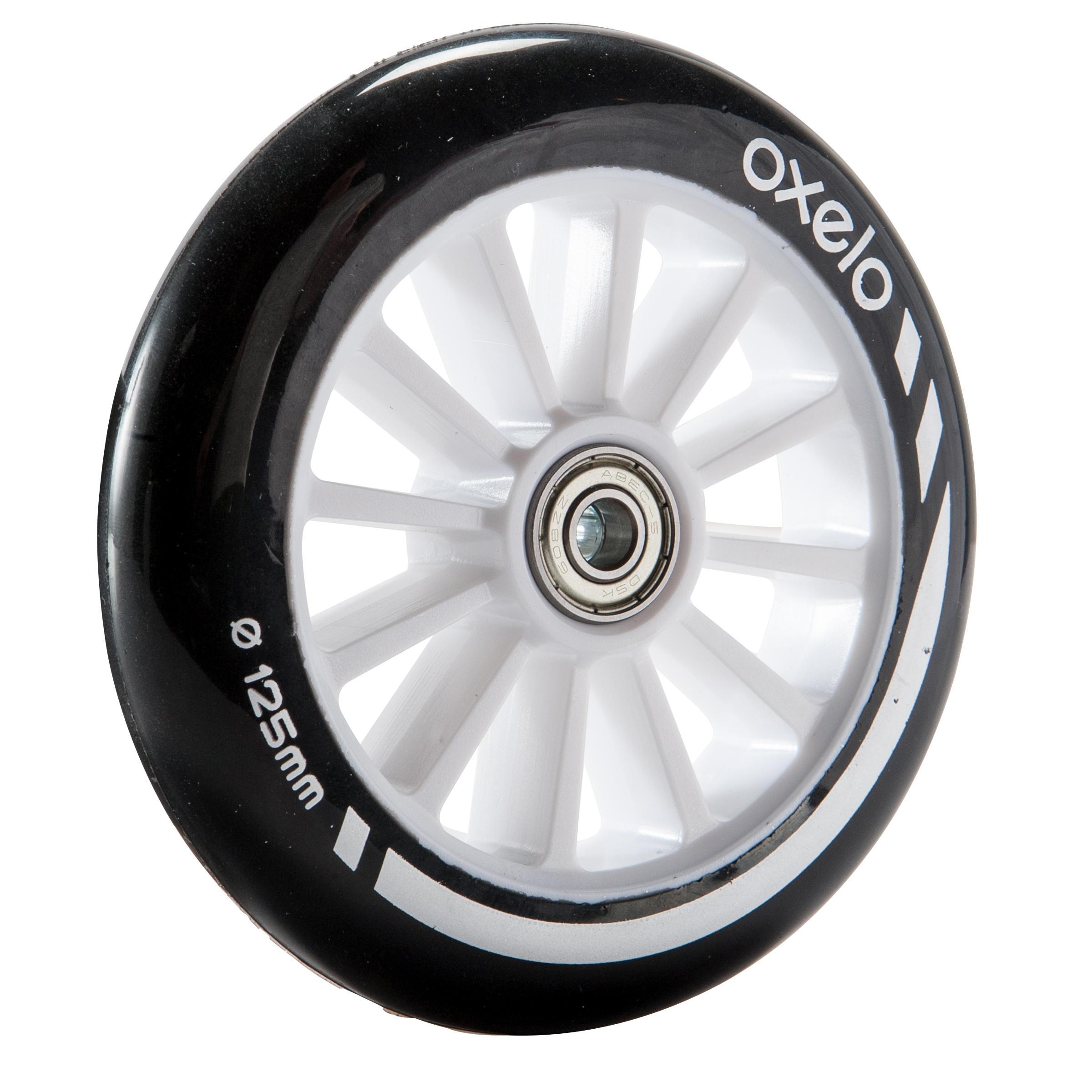 1 roue de trottinette 5_QUOTE_ avec roulements noire