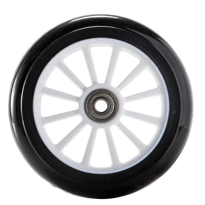 1 x 125 mm Scooter Wheel with Bearings - Black - 144022