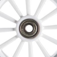 1 rueda patín del diablo 125 mm. con baleros negro