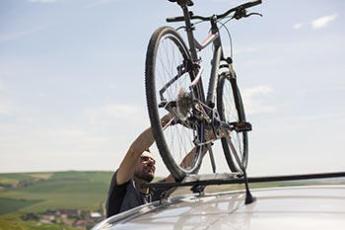 Porte vélo pour toit