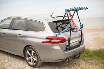 porte vélo sur coffre ou hayon