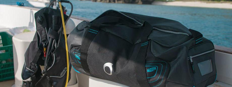 La bagagerie de plongée
