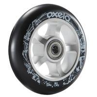 Roue trottinette PU aluminum noir 100 mm