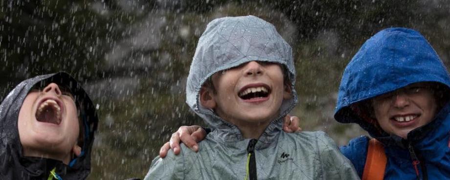 Enfants rando veste pluie