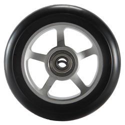 Scooter-Rolle Rad PU Alu 100mm schwarz