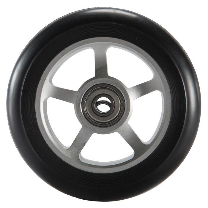 Stepwiel alu zwart PU 100 mm