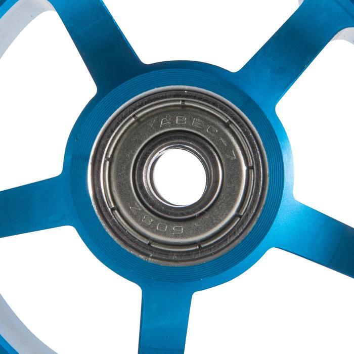 Accesorio Recambio Rueda Patinete Oxelo 100 MM Niño Azul Blanco