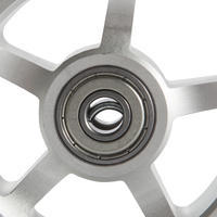 100 mm Alu PU Scooter Wheel - Black