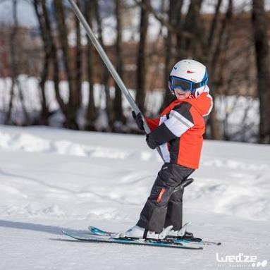 Skivakantie: het valies van een kind