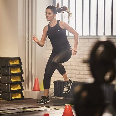 Fitness cardio training vrouwen