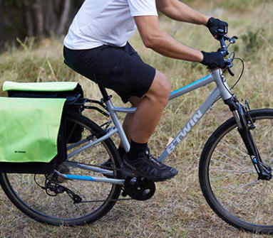 vélo hybride en campagne