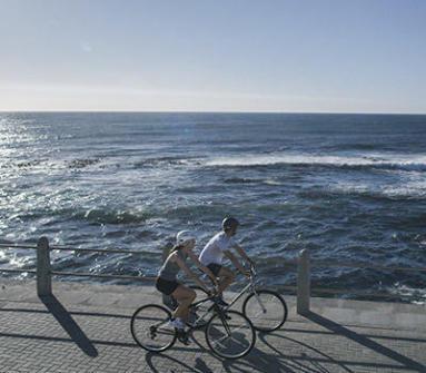 vélo hybride bord de mer