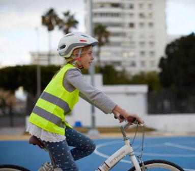 Securité à vélo pour mon enfant