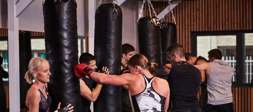 Sport boxe collectif