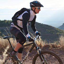 Vijf Tips mountainbike houding