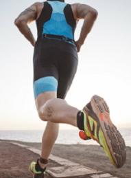 triathlon équipement à pied