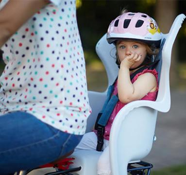 Siège bébé en vélo