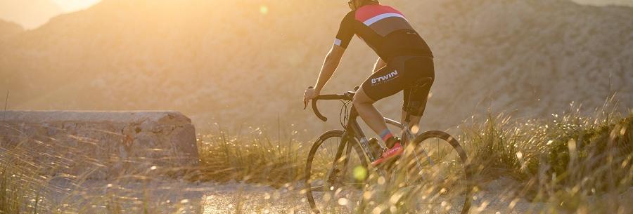 équipement préparation course vélo