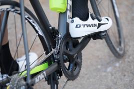 fietspositie afstellen pedalen