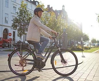 fiets zonder trapondersteuning