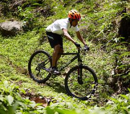 Mountainbike techniek oefening