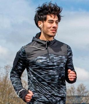homme running Decathlon