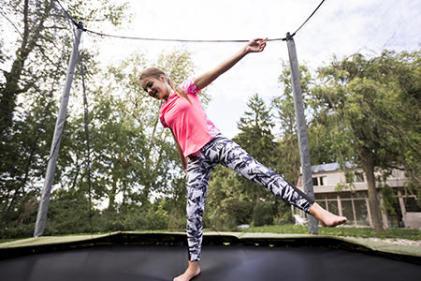 trampolinespringen domyos