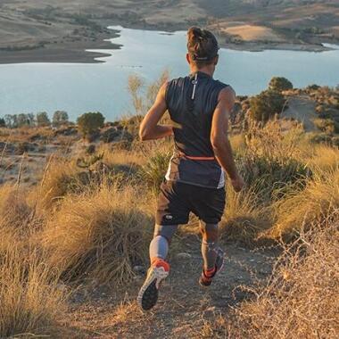 Wie läuft man einen Trail hinunter?