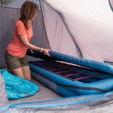 Wie pflege ich die Campingliege Camp Bed 60?