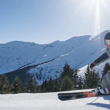 Entdecke das Skifahren
