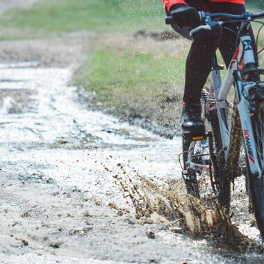 Wie sollte ich mein Mountainbike nach einer Tour warten?