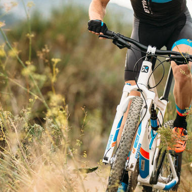 Mountainbike: Gabel und Federung