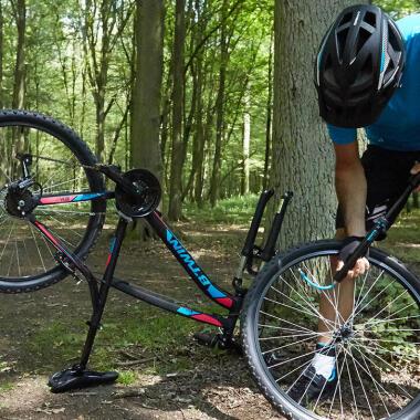Die Reifen: Die Wahl des Reifendrucks bei Mountainbikes