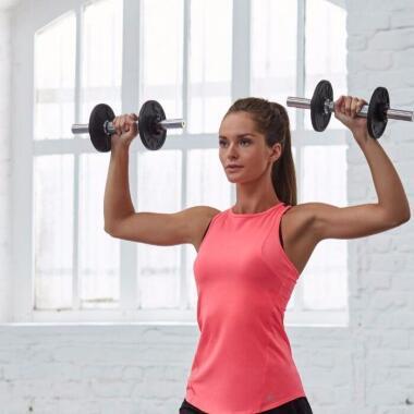 Trainingsplan zum Muskelaufbau für Frauen